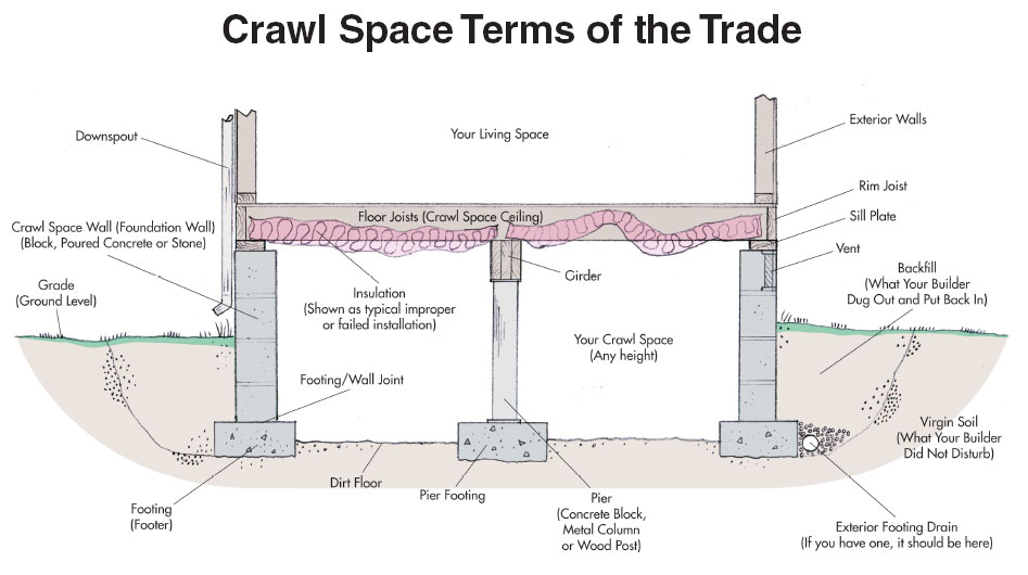 Our services for Crawl space excavation cost